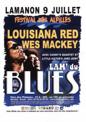 Wes Mackey and Louisiana Red Poster