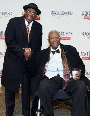 BB King and Wes Mackey