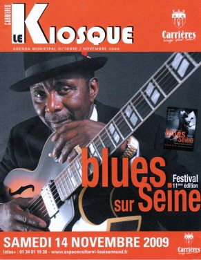 Wes Mackey Blues Sur Seine