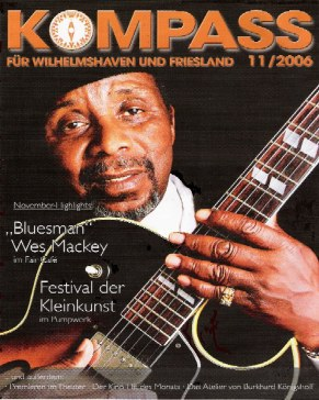Wes Mackey in Germany Mag Cover